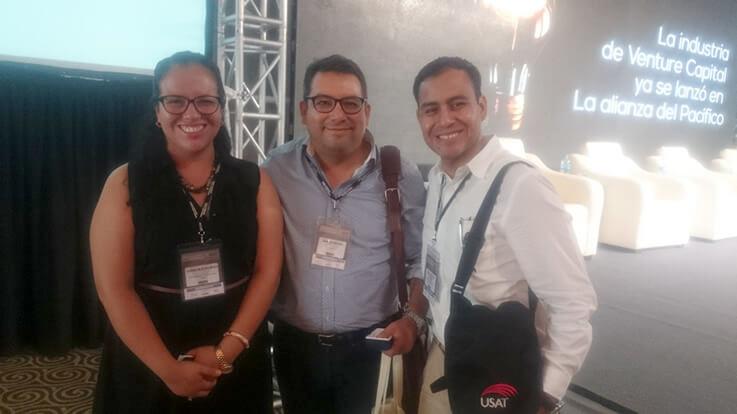 Junto a Gonzalo Begazo. Co Founder & Chairman de Chazki´s