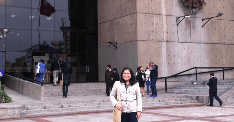Fiorela Fernández. Lima