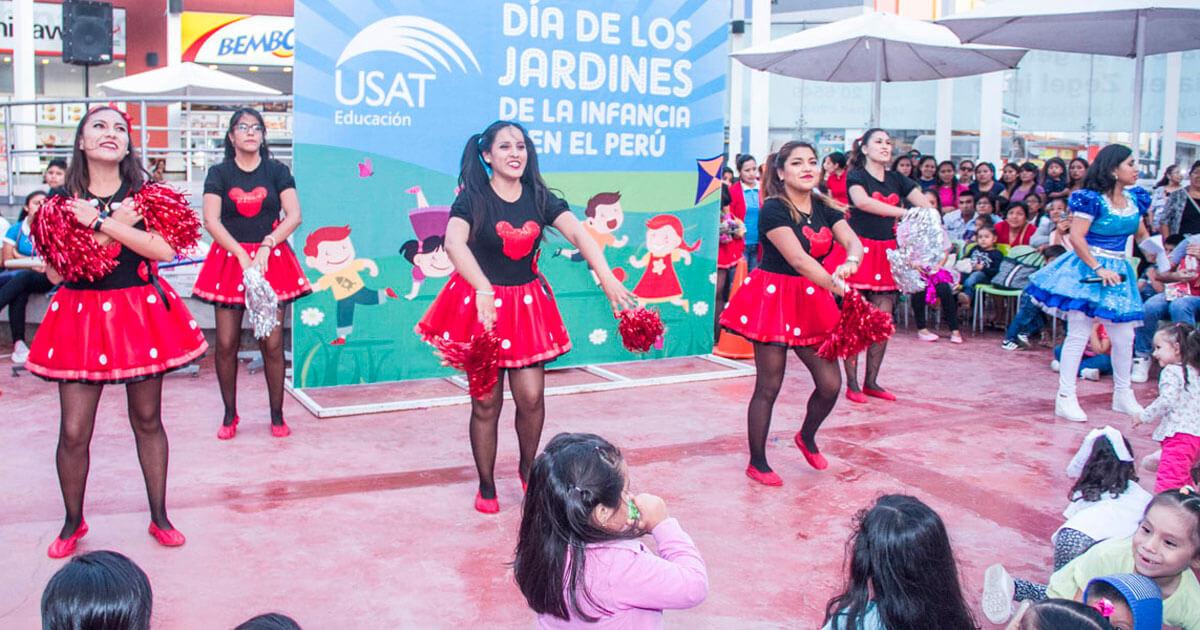 Educación inicial celebra el Día de los Jardines con show Infantil