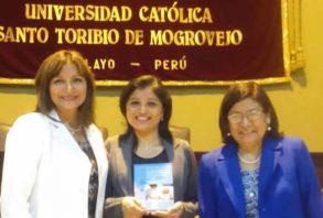 Enfermería USAT presenta libro de cuidados a pacientes con cáncer