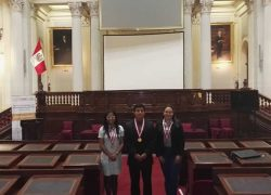Estudiantes USAT forman parte del Parlamento Joven