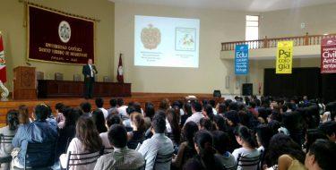 USAT continúa promoción de Responsabilidad Social
