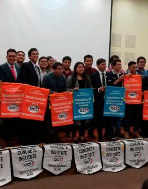 Capítulo de Estudiantes ACI-USAT recibe importante reconocimiento