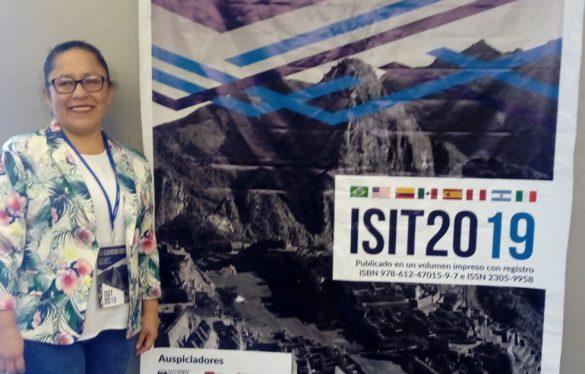 Docente USAT participa en el 10TH International Symposium on Innovation and Technology 2019
