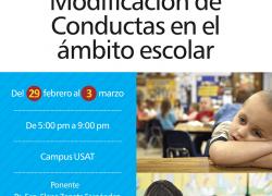 CURSO: MODIFICACIÓN DE CONDUCTAS EN EL ÁMBITO ESCOLAR
