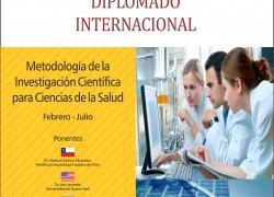 Diplomado Internacional: Metodología de la Investigación Científica para Ciencias de la Salud