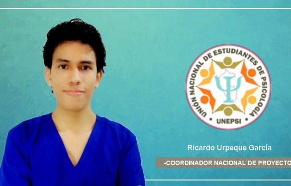 Alumno USAT es seleccionado como coordinador de proyectos de la Unión Nacional de Estudiantes de Psicología (UNEPSI)