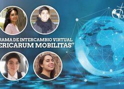 """Alumnos Extranjeros y de la USAT participan en nuevo Programa de Intercambio Virtual """"AMERICARUM MOBILITAS"""""""
