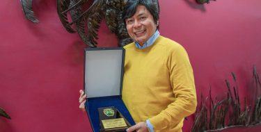 Director del ICUSAT recibe reconocimiento por parte de la Municipalidad de Túcume
