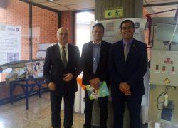 Docente USAT participa en el II Encuentro Internacional de Innovación Aplicada a la Empresa en Colombia