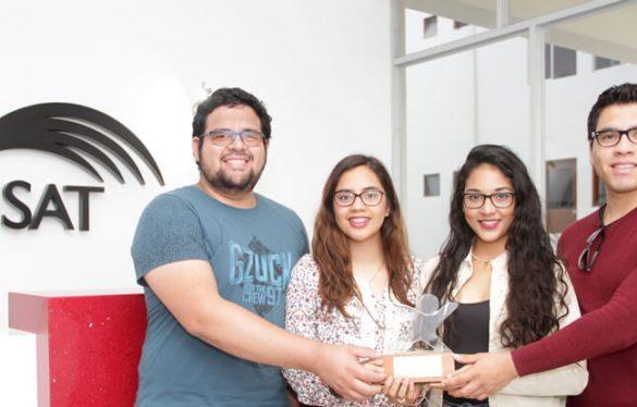 Premian a estudiantes USAT por innovadora aplicación