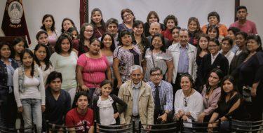 El Congreso de la República capacita a líderes del programa CISUSAT
