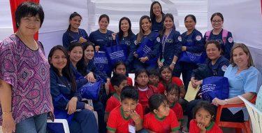 Residentes de la segunda especialidad de Odontopediatría de la Escuela de Odontología realizan proyección social en el caserío Lagunas – Lambayeque