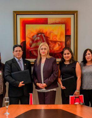 Escuela de Educación USAT firma convenio con el Gobierno Regional de Lambayeque y Arequipa Capacitaciones