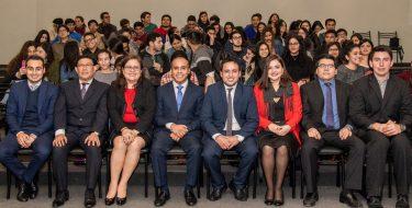 Egresados de la Facultad de Derecho USAT participan en Conversatorio