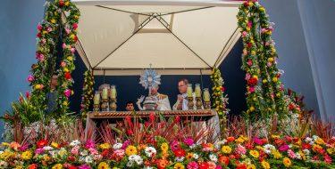 Bendición y reserva del santísimo sacramento Corpus Christi 2019