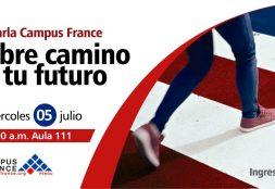 Charla Campus France. Abre Camino a tu futuro