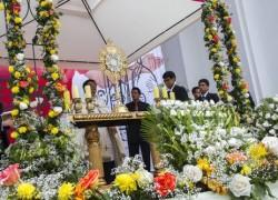 Celebración del Corpus Christi reúne a toda la USAT