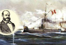 Combate de Angamos: la historia de Grau y el monitor Huáscar