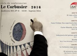 Ciclo de conferencias. Le Corbusier 2016