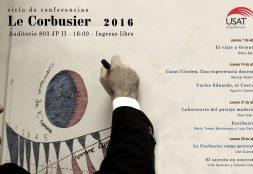 Ciclo de conferencias. Le Corbusier 2016