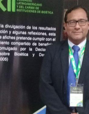 Docente de la Escuela de Medicina Humana USAT participó en XII Congreso Latinoamericano y del Caribe de Instituciones en Bioética
