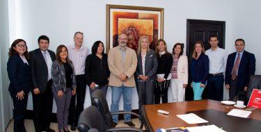 Docentes extranjeros participaron en el II Congreso Internacional de Educación Virtual y TIC en la USAT