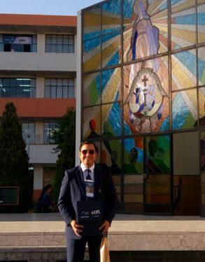 Profesor USAT participa en Jornada Internacional de Ingeniería en Arequipa