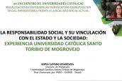 Directora de Responsabilidad Social presenta el programa CISUSAT en evento de universidades católicas colombianas