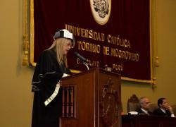 Discurso de la Dra. Patricia Julia Campos Olazábal, rectora de la Universidad Católica Santo Toribio de Mogrovejo, en el marco de la ceremonia central por el 17° aniversario