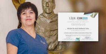 Docente de Odontología USAT es ponente en conferencia organizada por la Universidad Internacional de Ecuador