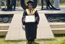 Docente de Psicología USAT obtiene grado de doctora en Ciencias de la Educación