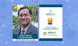 Docente de la Facultad de Medicina USAT es nuevo 'Investigador Renacyt'