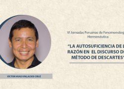 Docente participó como ponente en las XVI Jornadas Peruanas de Fenomenología y Hermenéutica organizadas por la PUCP