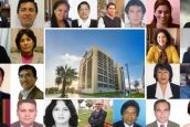 Docentes USAT reciben reconocimiento por 15 años de trabajo en la universidad