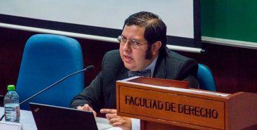 Docente de la Facultad de Derecho USAT presenta Comunicación en el VIII Congreso del Instituto Latino Americano de Historia del Derecho