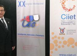 Docente USAT participa como ponente en Congreso EDUTEC 2017 en Chile
