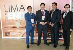 Delegación de la Especialidad de Endodoncia – USAT ocupan primer lugar en el concurso de poster en Lima ENDO 2019