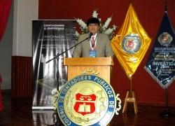 Profesor USAT es premiado en Convención Nacional de Investigación Contable