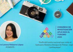 Egresada de la Escuela de Administración Hotelera participa como ponente en congreso internacional de turismo