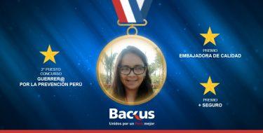 Egresada de Ingeniería Industrial USAT es reconocida por Backus