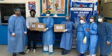 Egresado de la Escuela Arquitectura USAT dona 1000 protectores faciales tras ganar concurso de Fundación Telefónica