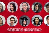 Egresados de la Facultad Derecho USAT obtienen plazas en SUNARP