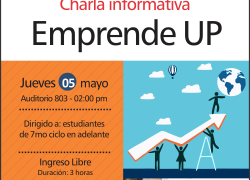 Charla Informativa: Emprende UP