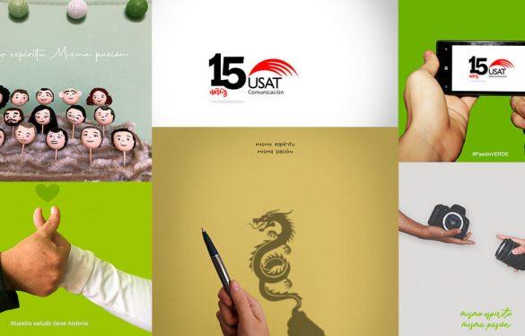 Escuela de Comunicación USAT celebró 15 años de creación