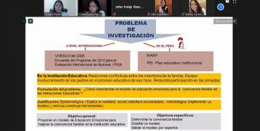 Escuela de Educación USAT participa en Conferencia Mundial de Unequal World