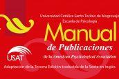 Escuela de Psicología USAT presenta adaptación de Manual APA