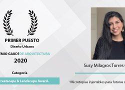 Estudiante USAT gana el Premio Gaudí de Arquitectura 2020