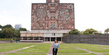 Estudiante de Arquitectura USAT realiza pasantía académica en Universidad Nacional Autónoma de México
