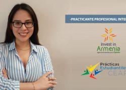Estudiante de Economía USAT es reconocida como practicante internacional de la semana por el Consejo Empresarial de la Alianza del Pacífico
